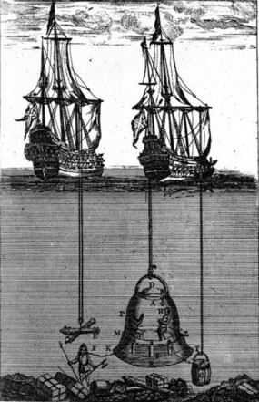 Diving Bell with Barrels